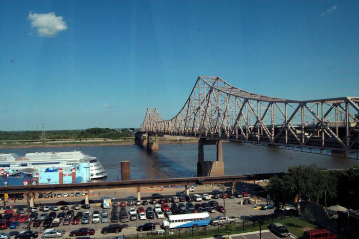 11.  Rivers, bridges, and riverboat casinos.
