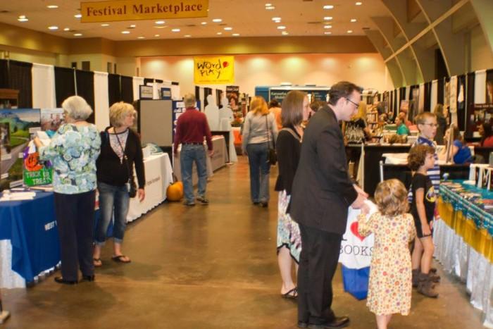 10. The West Virginia Book Festival