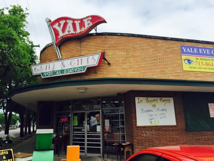 2) Yale St Grill (Houston)