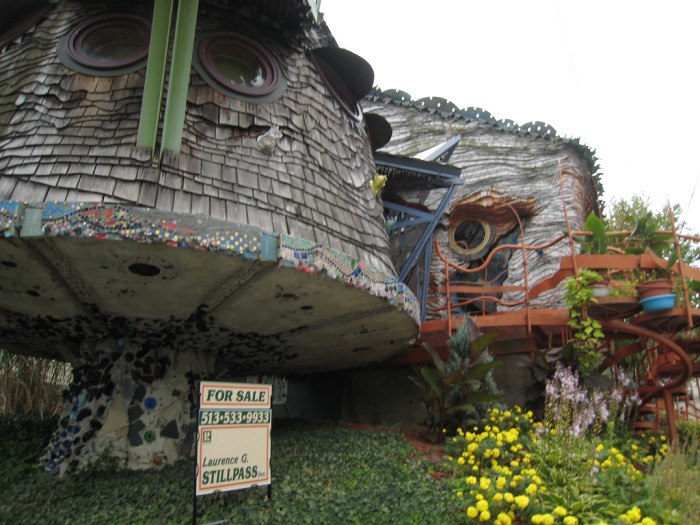 5. The Mushroom House (Cincinnati)