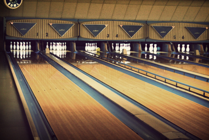 11. Went to Bowling Alleys and Skating Rinks