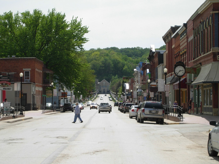 11. And the small town charm.
