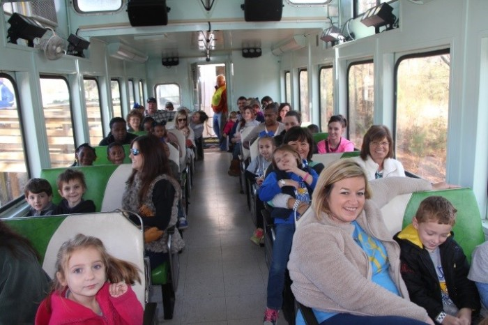 11. Ride the Columbia Christmas Train.