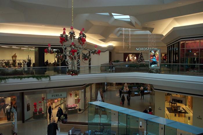 3. The malls.