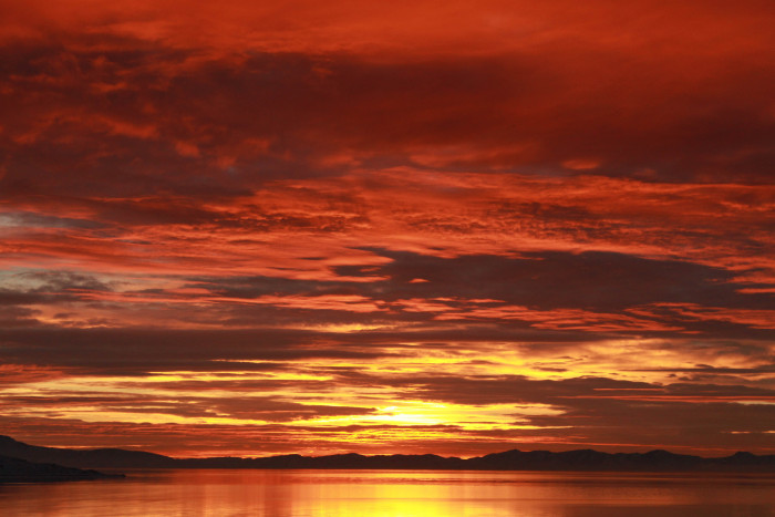 9. Watch the sun set over the Great Salt Lake.