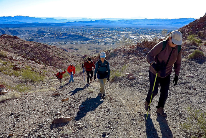 5. Nevada has the best hiking spots in the U.S.