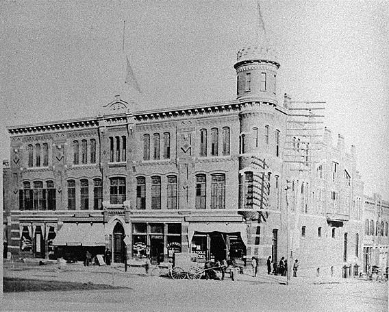 6. Volunteers Armory, Macon, Bibb County, ca. 1890-1900