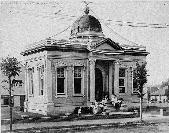 7. Carnegie Library, Cordele, 1916 -  115 E 11th Ave, Cordele, GA 31015