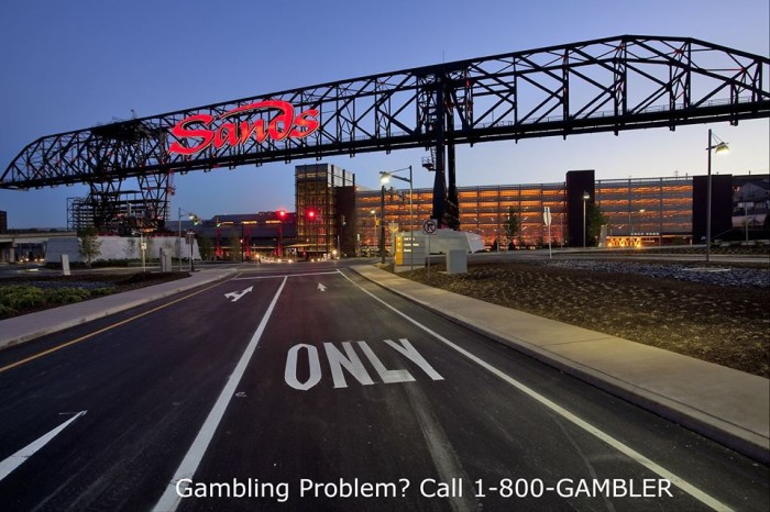 5. The Sands Casino is a huge attraction throughout the region.