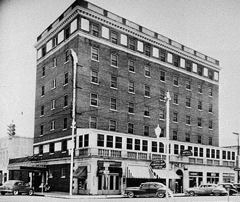 11. Daniel Ashley Hotel, Valdosta, ca. 1945