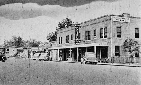 10.  Camden Hotel and Cafe, Kingsland, 1935