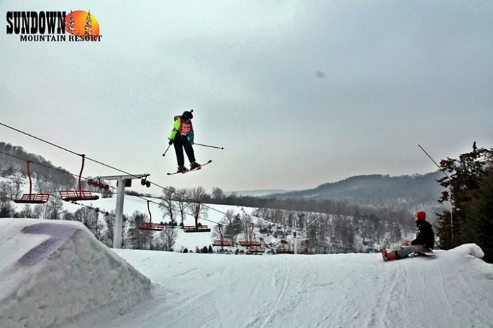 10. Sundown Mountain Resort in Dubuque is another great place to check out for all your winter fun.