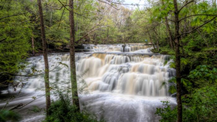 1) Rushing Rutledge Falls
