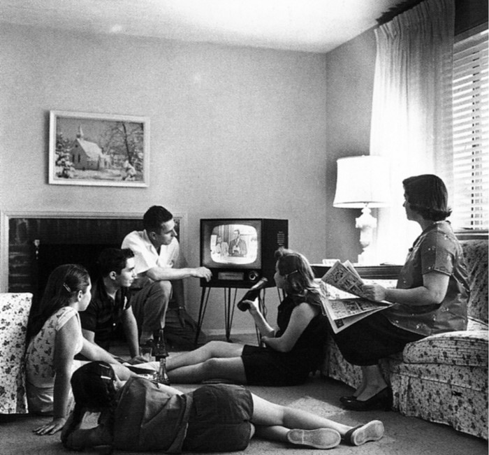 12.We couldn't wait for our TV show to come on…