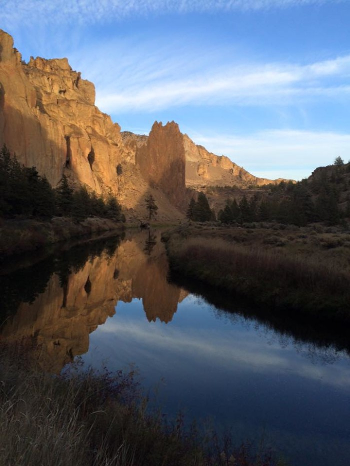 8. Sunset at Smith Rock State Park by Sarah Janda.
