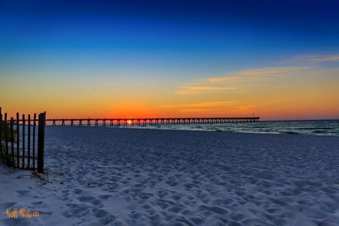 4. Thank you, Travis James Pratt, for this photo of Pensacola Beach...