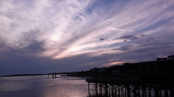 10. This gorgeous sunset in Cedar Key was captured by Lisa Ward Maxwell.