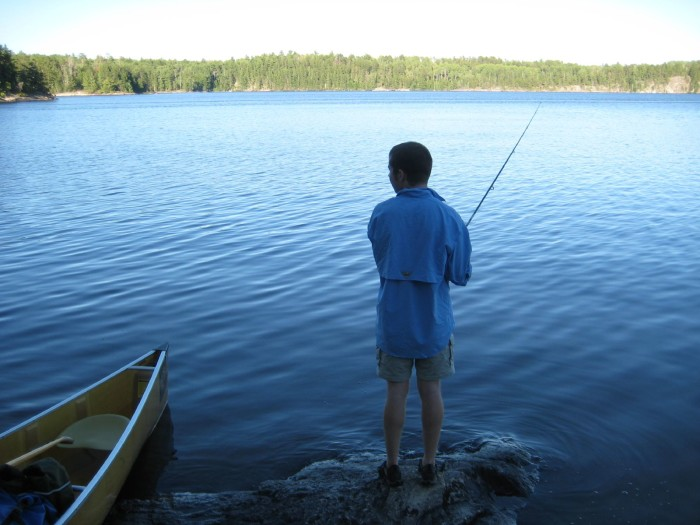 5. They've never been fishing. Or they've never caught a single fish.