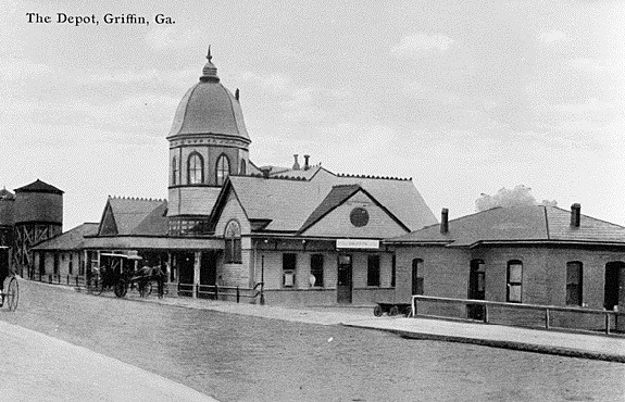 3. The Depot, Griffin, Spalding County, 1911