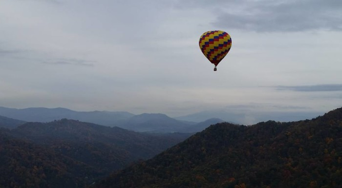 15. Hot air balloon