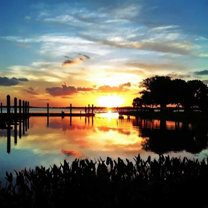 9. Joe Hall captured this incredible sunset in one of our favorite towns, Mount Dora