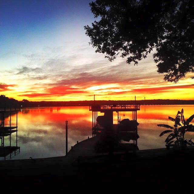 14) A gorgeous sky captured by Phebe McSwain at Cedar Lake Creek!