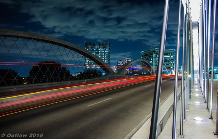 5) Larry Wells Outlaw takes this incredible photo of the 7th St bridge in downtown Fort Worth!