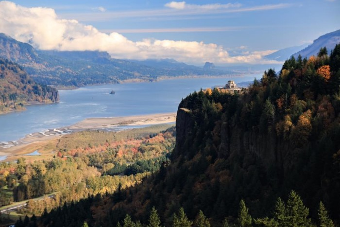 3. Columbia River Gorge and Crown Point by Caitlin Callahan.