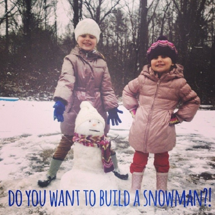 3. Snow days are the BEST days!