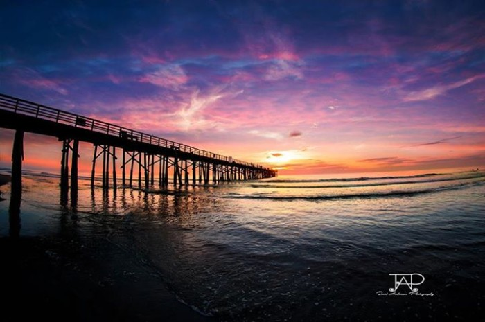16. Thanks, Terri Anderson, for this breathtaking shot of Flagler Beach