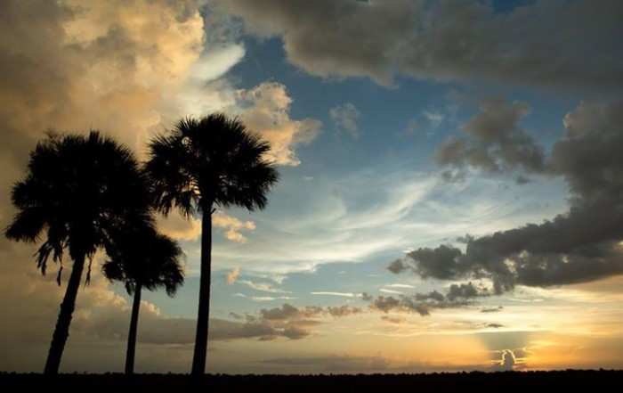 18. Mike Babic captured this gorgeous sunset in Palm Bay