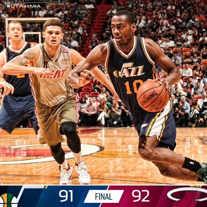 8. The Utah Jazz