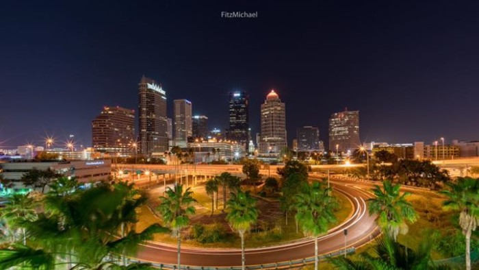 24. Downtown Tampa was captured beautifully here by Fitz Michael