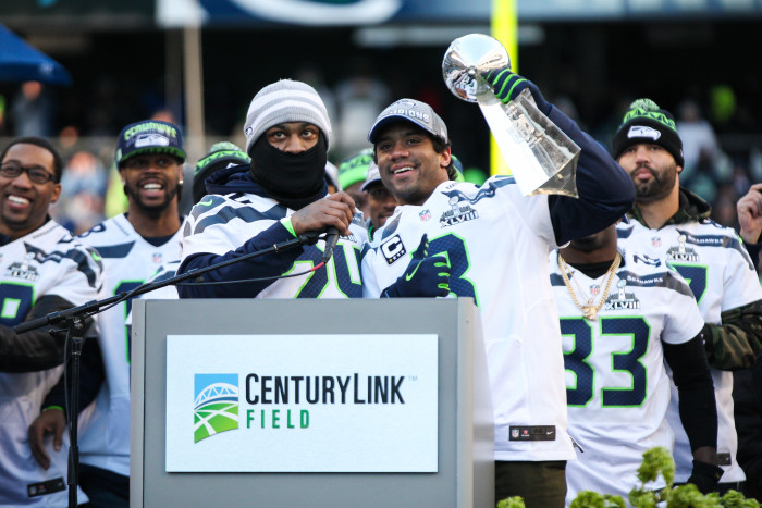 10. 2014: The Seattle Seahawks defeat the Denver Broncos in  Super Bowl XLVIII.