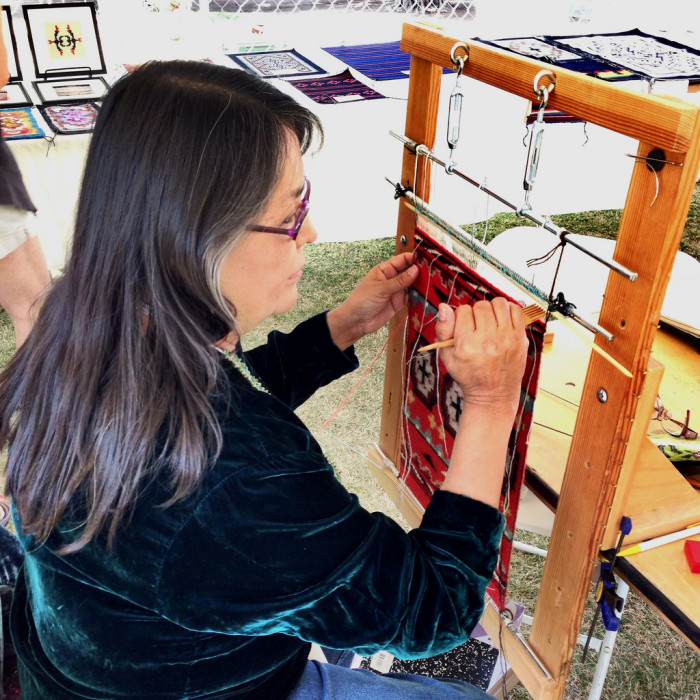 9. Indigenous arts and crafts are another thing you will probably find in an Arizona home, whether it is a small carved fetish or an intricate Navajo rug.