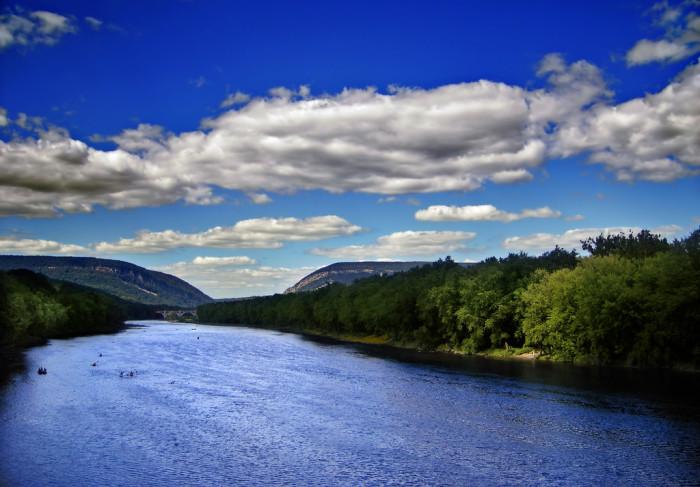 14. The Delaware Water Gap