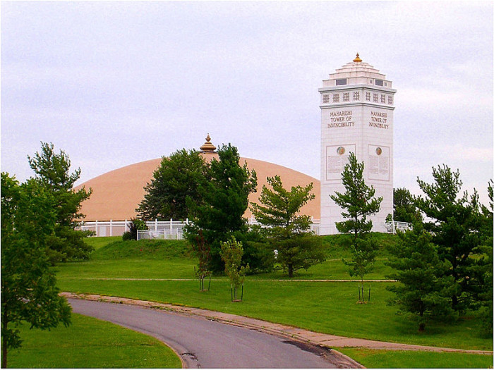 12. Maharishi University, Fairfield