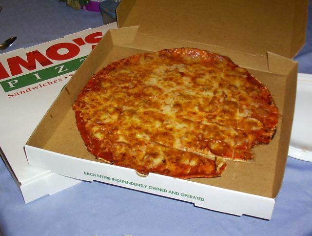13. St. Louis-style pizza.