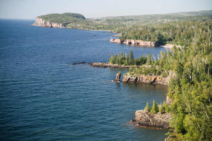 4. The amazing scenery seen from Shovel Point is another definitive North Shore view.