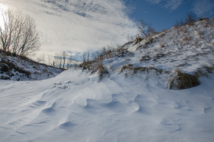 3. Even the Dunes look good with a little bit of snow on top.