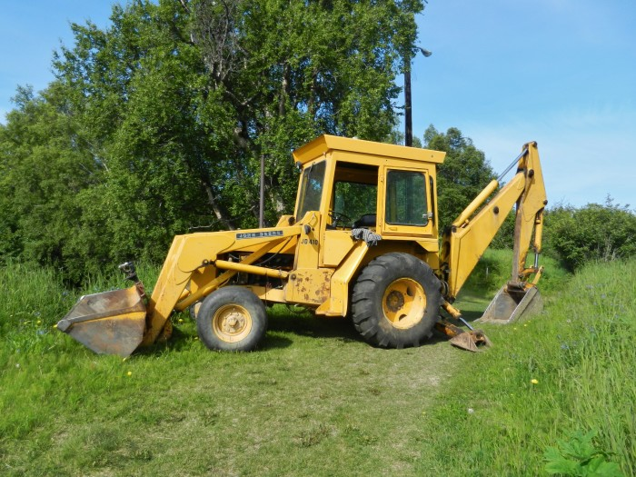 13. A truck, tractor, or backhoe is probably a wise investment.