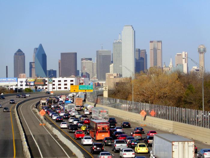 2. Traffic jams galore