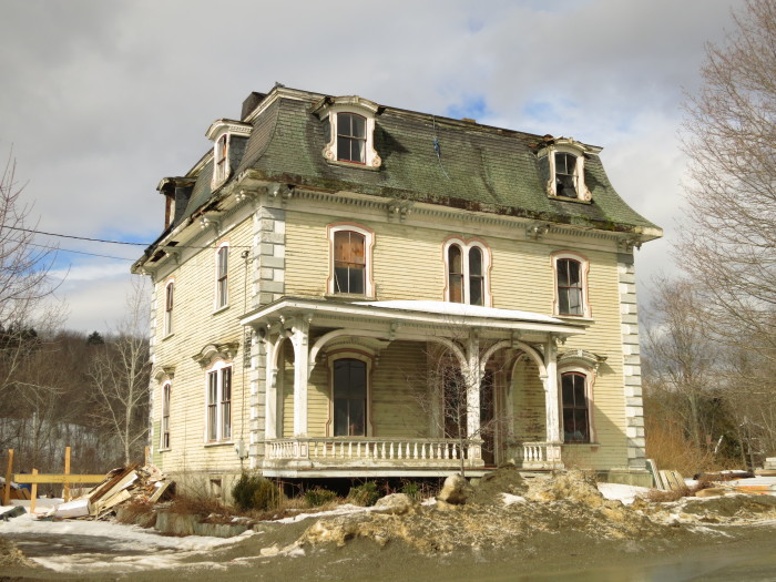 Abandoned places in maine for How much to build a house in maine