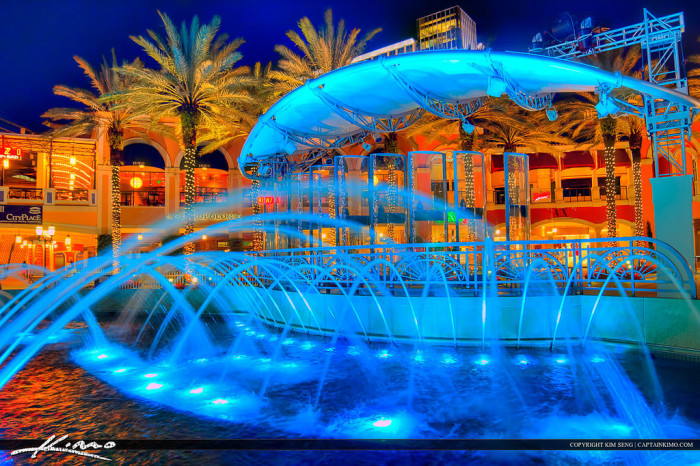13. Water Fountain in Cityplace, West Palm Beach