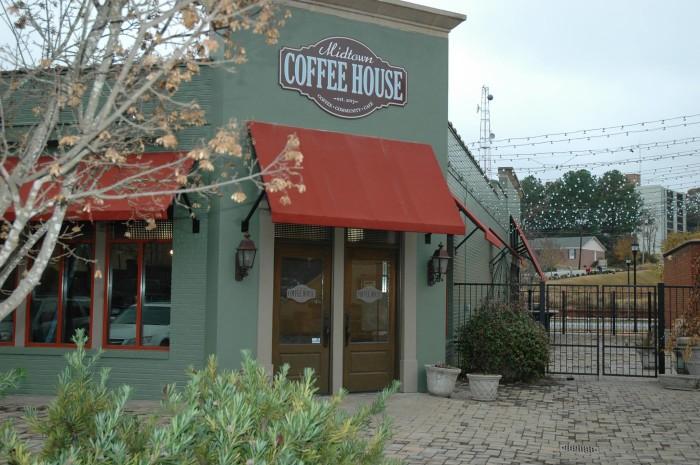 1. Midtown Coffee House - 1342 13th St Columbus, GA 31901