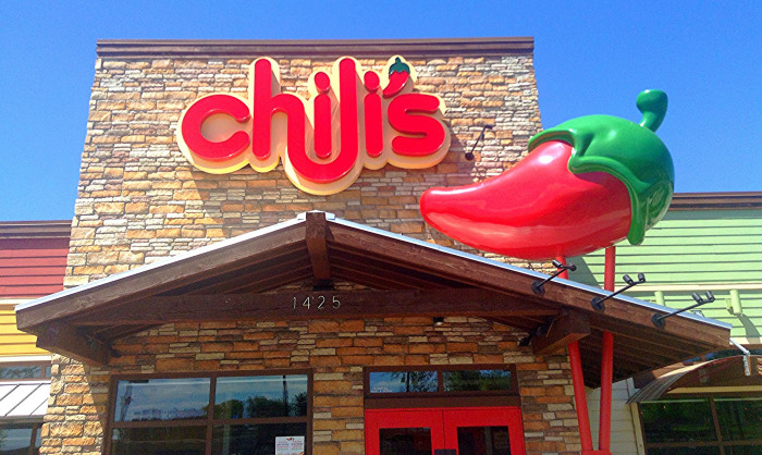 10. We wouldn't have Chili's either, and if you've ever had their fajitas, it was quite a life-changing experience.