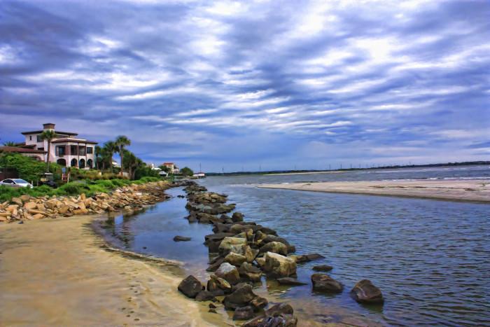 6. The Georgia coast