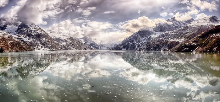 1) A stunning capture of Glacier Bay!