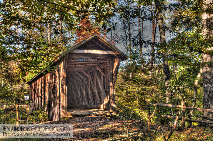 6. Bunker Hill Covered Bridge, Claremont