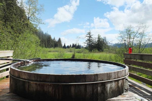 9) Chief Shakes Hot Springs, Southeast Alaska.
